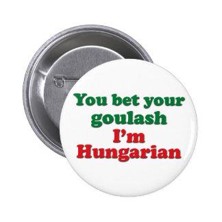 Hungarian Goulash 2 6 Cm Round Badge