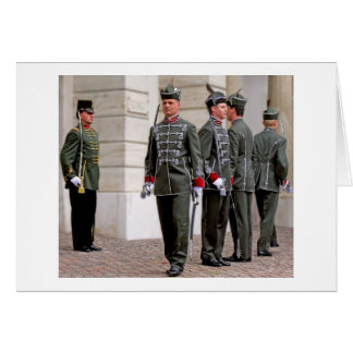 Hungarian Guards Marching (1) Greeting Card