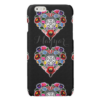 Hungarian Heart Embroidery iPhone 6 Plus Case