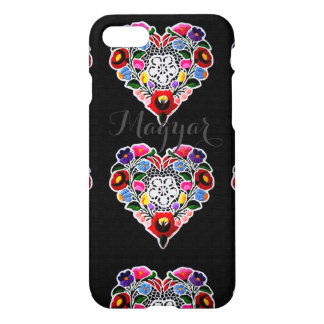 Hungarian Heart Embroidery iPhone 7 Case