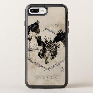 Hungarian Horntail Dragon 2 OtterBox Symmetry iPhone 8 Plus/7 Plus Case
