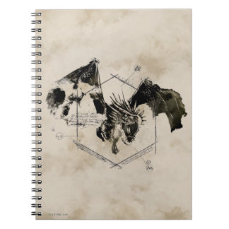 Hungarian Horntail Dragon Notebooks