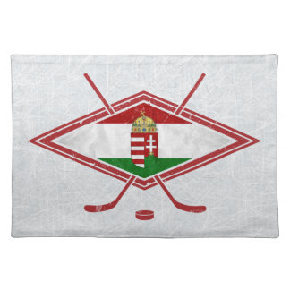 Hungarian Ice Hockey Logo Placemats