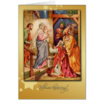 hungarian merry christmas card nativity