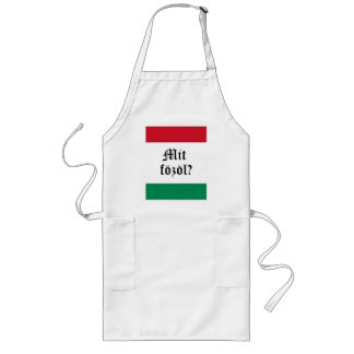 "Hungarian ""Mit fozol?"" (What's cooking?) Apron"