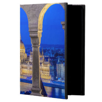 Hungarian Parliament Building at Dusk iPad Air Cover