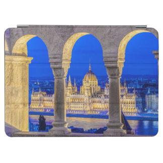 Hungarian Parliament Building at Dusk iPad Air Cover
