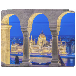Hungarian Parliament Building at Dusk iPad Cover
