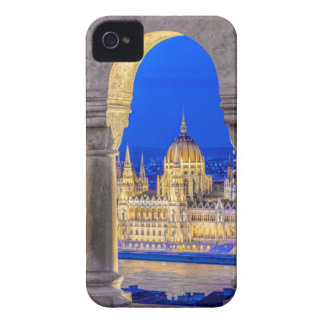 Hungarian Parliament Building at Dusk iPhone 4 Case-Mate Cases