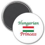 Hungarian Princess 7.5 Cm Round Magnet