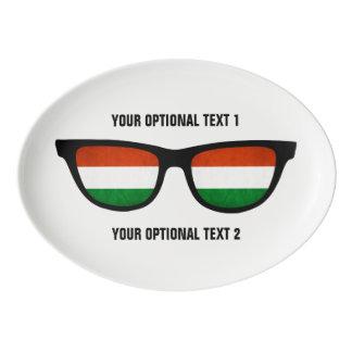 Hungarian Shades custom serving platter