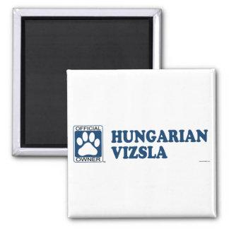 Hungarian Vizsla Blue Magnet
