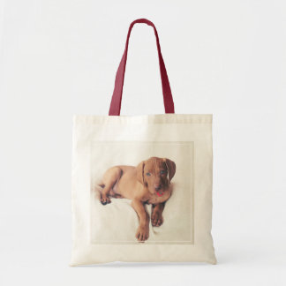 Hungarian Vizsla Puppy Tote Bag