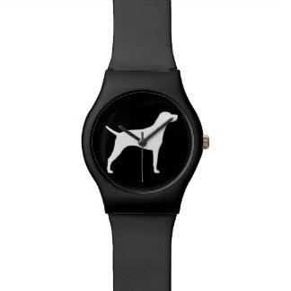 Hungarian Vizsla Silhouette Watch
