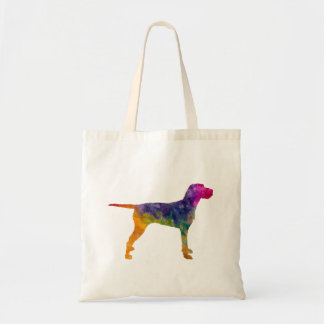 Hungarian Wirehaired Vizsla in watercolor Tote Bag