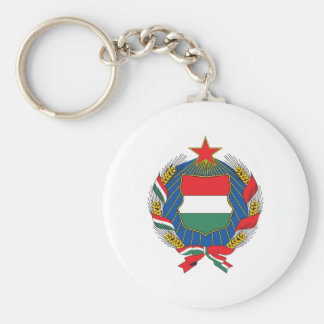 Hungary 1957 Coat Of Arms Key Ring