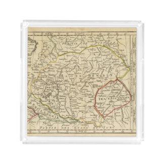Hungary 3 acrylic tray