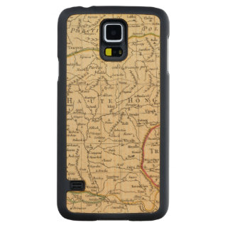 Hungary 3 carved maple galaxy s5 case