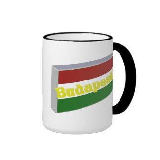 Hungary 3D+H Mugs