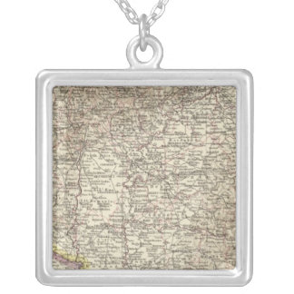 Hungary 4 silver plated necklace