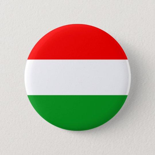 Hungary 6 Cm Round Badge