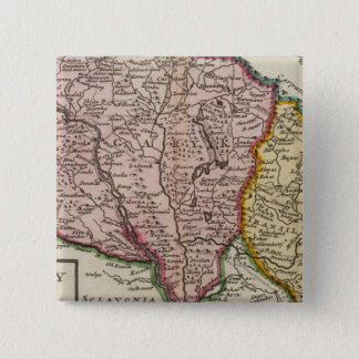 Hungary and Transilvania 15 Cm Square Badge