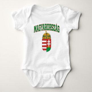 Hungary Baby Bodysuit