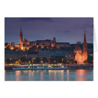 HUNGARY, Budapest: Castle Hill, Calvinist Church Card