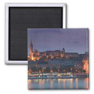 HUNGARY, Budapest: Castle Hill, Calvinist Church Magnet