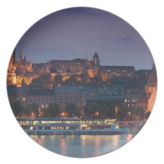 HUNGARY, Budapest: Castle Hill, Calvinist Church Plate