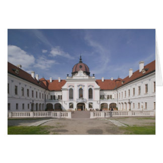 Hungary, Budapest, Godollo: Royal Mansion, Home Card