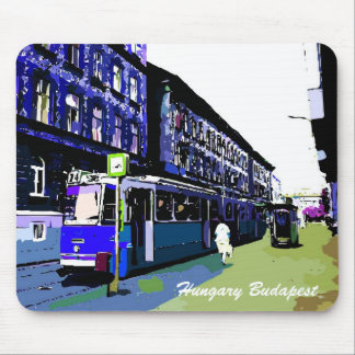 Hungary Budapest street view art Mouse Pad