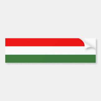 Hungary Bumper Sticker