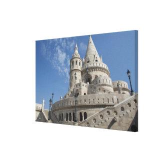 Hungary, capital city of Budapest. Buda, Castle 2 Canvas Print