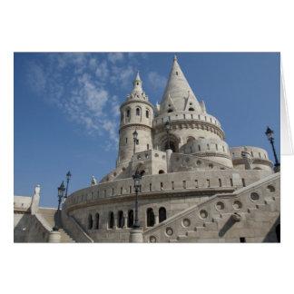 Hungary, capital city of Budapest. Buda, Castle 2 Card