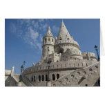 Hungary, capital city of Budapest. Buda, Castle 2 Greeting Card
