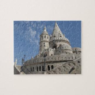 Hungary, capital city of Budapest. Buda, Castle 2 Jigsaw Puzzle