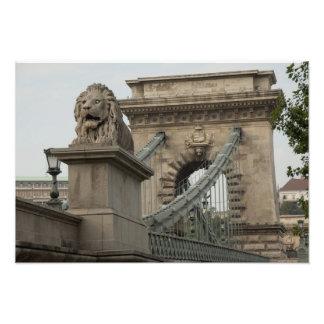 Hungary capital city of Budapest Historic Photo Art