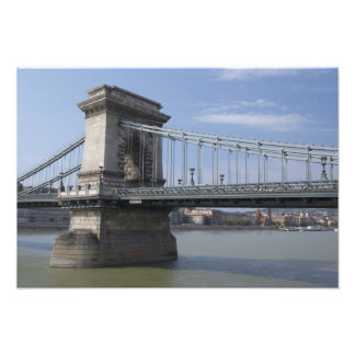 Hungary, capital city of Budapest. Historic Photograph