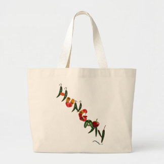 Hungary Chili Peppers Canvas Bag