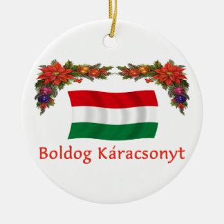 Hungary Christmas Christmas Ornament
