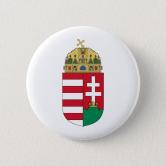 Hungary coat of arms 6 cm round badge