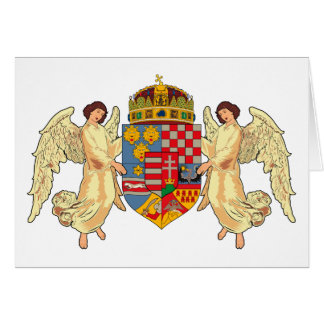 Hungary Coat of Arms (old) Greeting Card