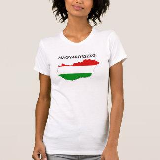 hungary country flag map shape symbol T-Shirt