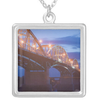 HUNGARY, DANUBE BEND, Estergom: Maria Valeria Silver Plated Necklace
