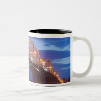 HUNGARY, DANUBE BEND, Estergom: Maria Valeria Two-Tone Coffee Mug