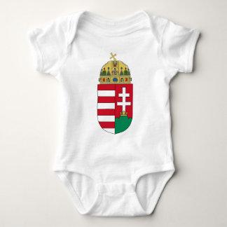 hungary emblem baby bodysuit