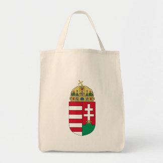hungary emblem tote bag