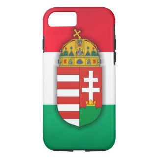 Hungary Flag & COA iPhone 7 Case