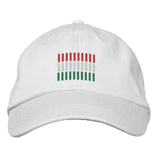 Hungary Flag Embroidery Embroidered Hat